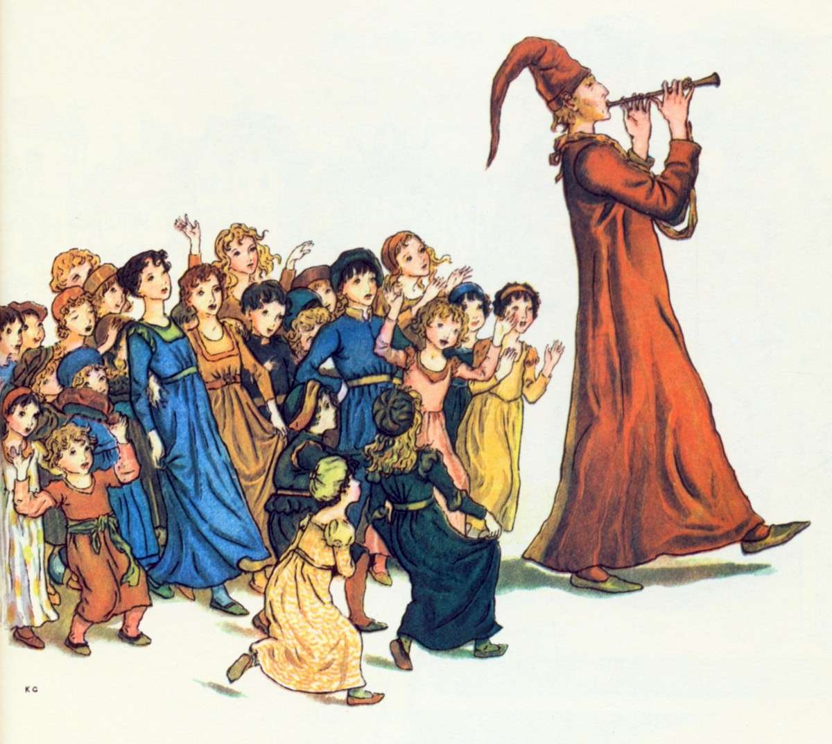 The Pied Piper of Hamelin - Robert Browning poems