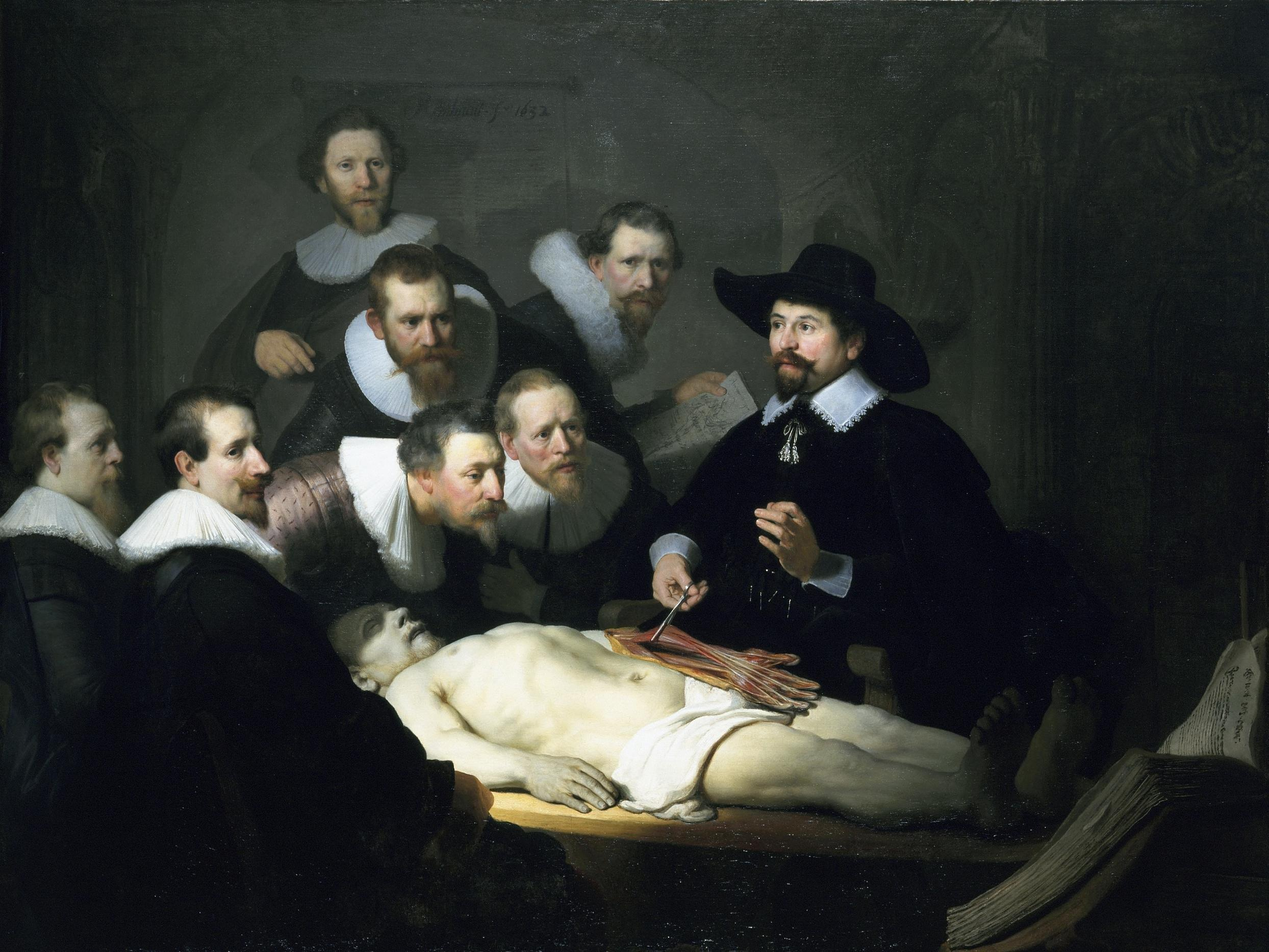 Rembrandt – The Anatomy lesson of Dr. Nicolaes Tulp – Analysis | CAU